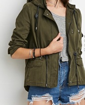 jacket,green,grey,army green jacket,green jacket,olive green