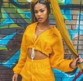 jacket,yellow,yellow jacket,raincoat,crop,cropped jacket,nylon,yellow nylon