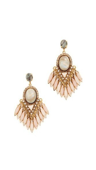 earrings blush jewels