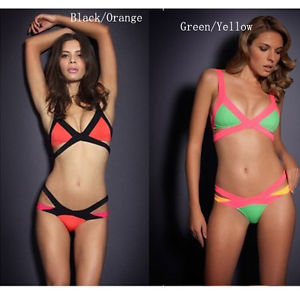 Women Sexy Bandage Dress Bikini Monokini Beachwear Bikini Swimwear B05 XS s M L | eBay