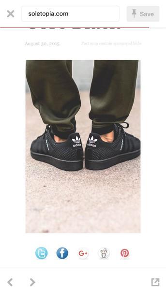 shoes adidas black sneakers sneakers mens sneakers