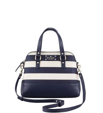 bag purse handbag stripes kate spade kate spade bag kate spade purse shoulder bags