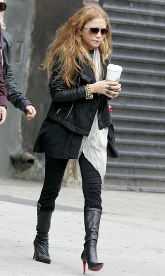 jacket mary kate olsen fall outfits