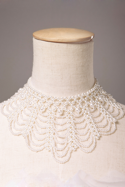 ROMWE | Faux Pearl Collar Necklace, The Latest Street Fashion