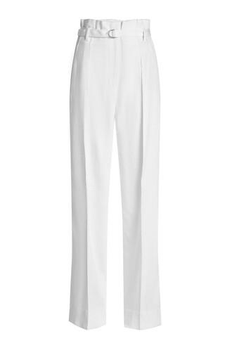 pants high white