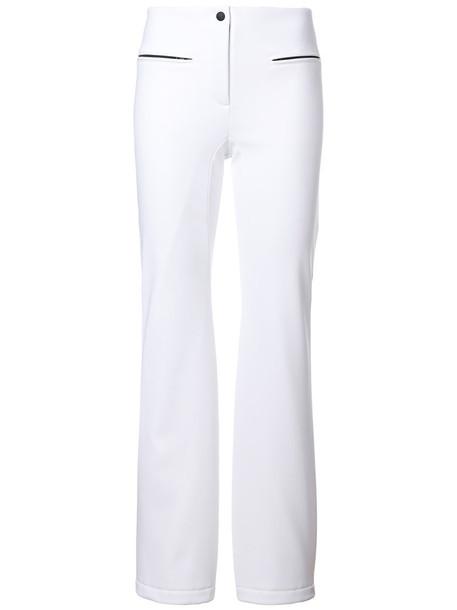 Fendi women spandex white pants
