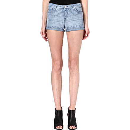 LEE - Aztec-print denim shorts | Selfridges.com
