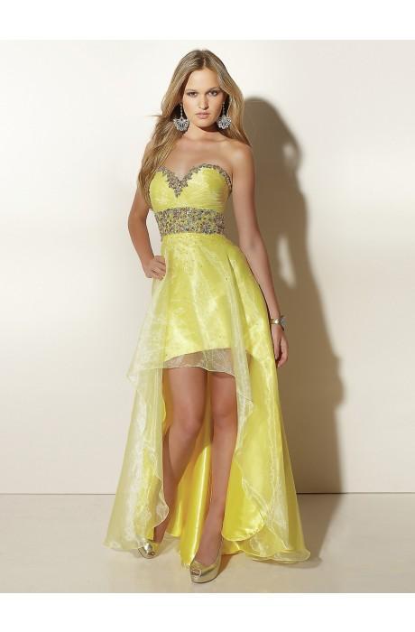 Sequin Zipper Taffeta Prom Dresses