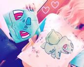 shirt,pokemon,bulbasaur,pink,cute,kawaii,pokémon