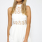 Perfect storm playsuit - white