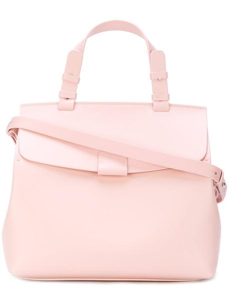 Nico Giani - Hoodia tote - women - Calf Leather - One Size, Pink/Purple, Calf Leather