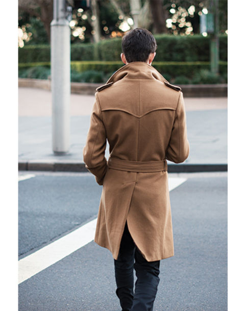 jacket pea coat sydney australia gq menswear trench coat camel coat mens jacket