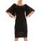 Black dress lace sleeves