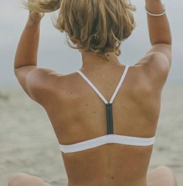 swimwear tan lines white bikini bikini bikini top summer tanning