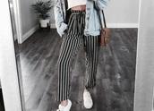pants,loose pants,stripes,anything similiar .