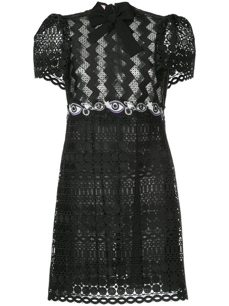 Giamba dress lace dress women lace black
