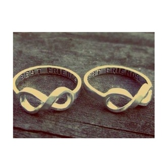 jewels infinity infinity ring best friends
