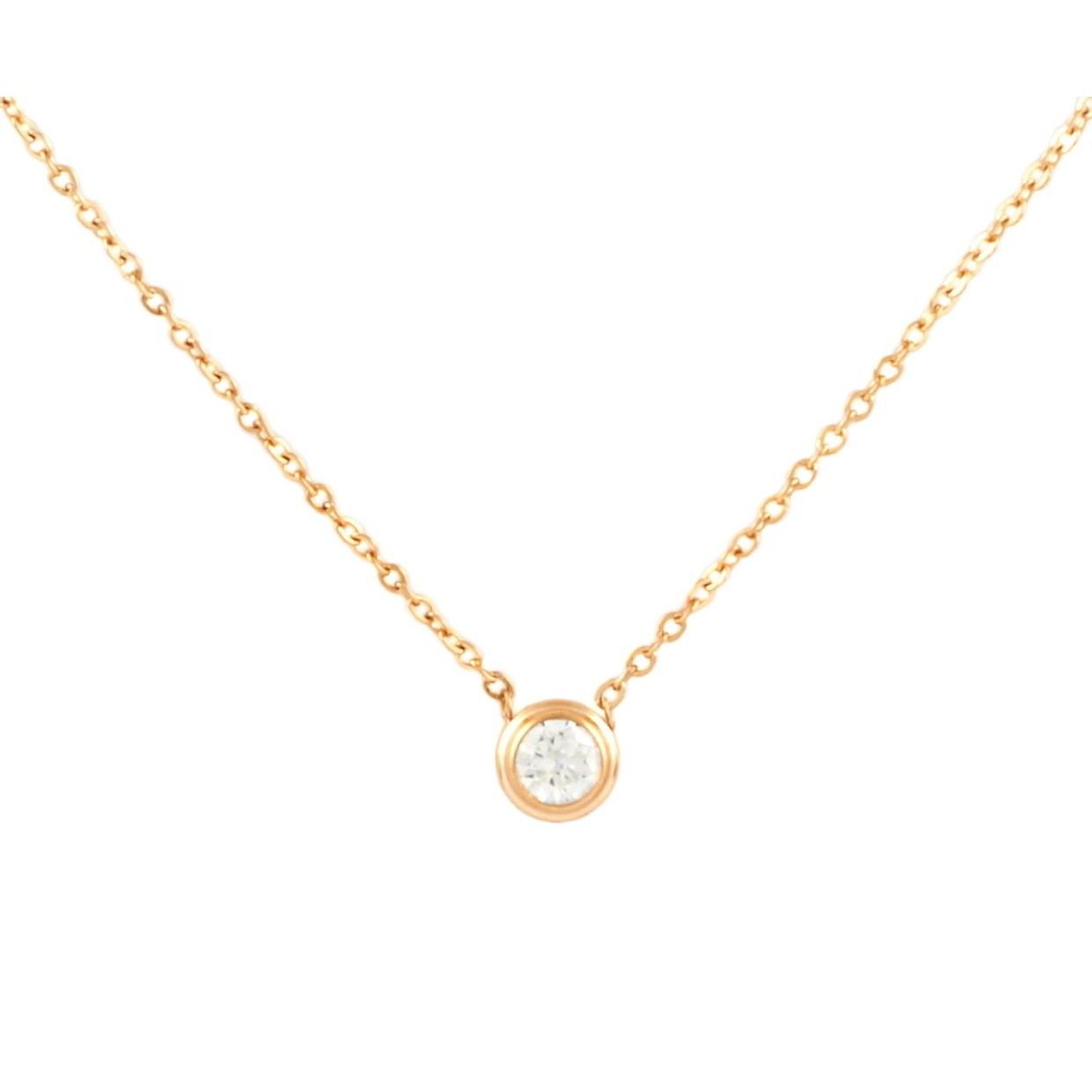 Dainty Crystal Necklace | Gold plated on Titanium