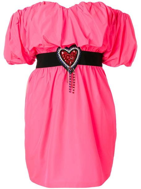 MSGM dress mini dress mini women purple pink