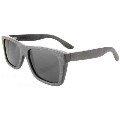Trinity Maplewood Skateboard Sunglasses - Black/Multi | Woodzee.com