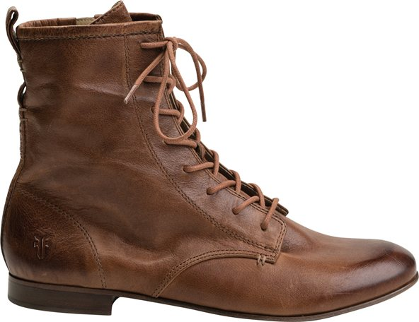 Awesome Frye Shoes Harlow Lace Up 77615 Tan Shoes For Women  EaeShoes