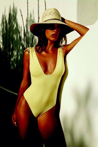 swimwear yellow