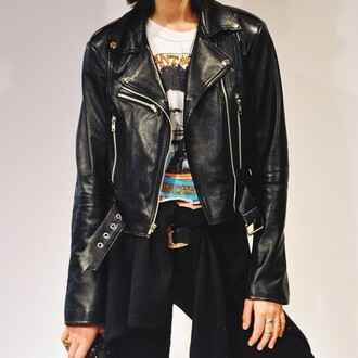jacket saul leather jacket biker jacket leather biker lambskin