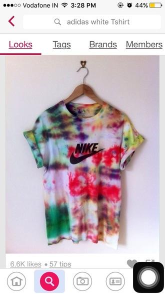 t-shirt nike tie dye tie dye shirt