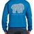 ivory ella elephant back sweatshirt
