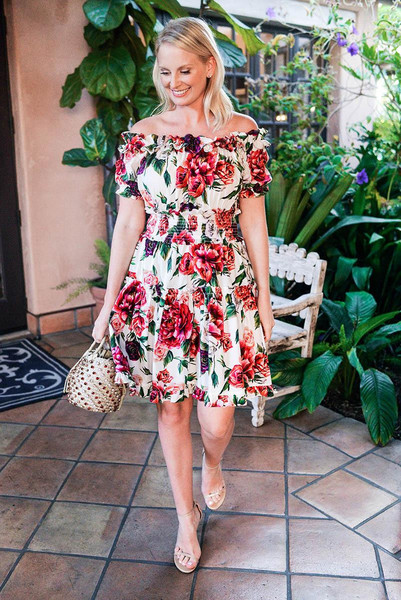 style archives | the style scribe blogger dress floral dress sandals summer outfits