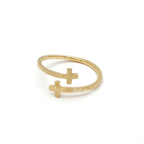 jewels jewelry ring cross ring adjustable ring adjustable cross ring cross jewelry woman ring