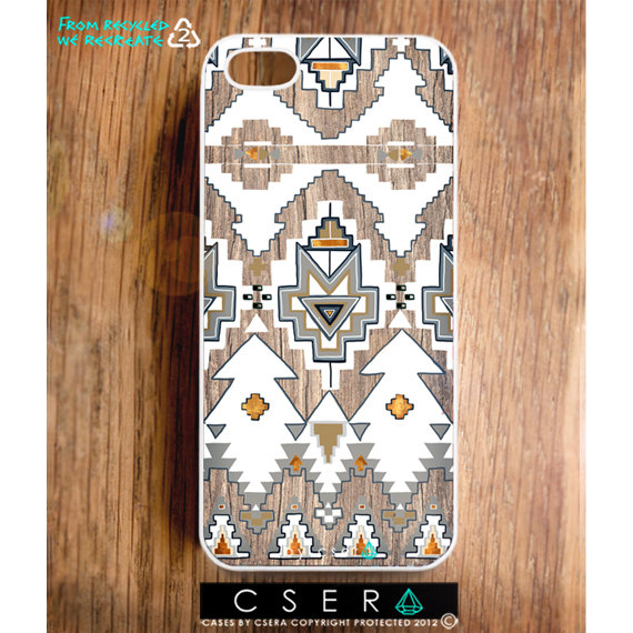 Southwestern iphone 5 case  geometric iphone 5 by casesbycsera