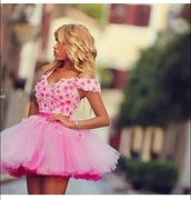 prom dress,homecoming dress,homecoming outfit,pink dress,pink sunglasses,pink,pink high heels,pink skirt,flower crown,floral,floral tank top,floral skirt,floral dress,tutu,tulle skirt,tutu tulle,tutu prom dress,tutu chiffon dress,tutu rhinestones skirt,tutu dress,pastel,pastel pink,neon,neon pink,tumblr jacket,tumblr girl,tumblr outfit,tumblr,tumblr clothes,tumblr dress,instagram,prom,flowers,dress tutu,awesome dress,two pink,strappy,hot dress,dress