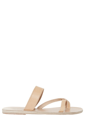 women sandals beige shoes