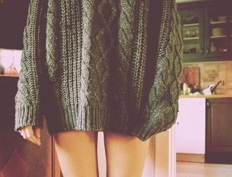 sweater knitwear knit green greenish jumper top gorgeous wool maybes