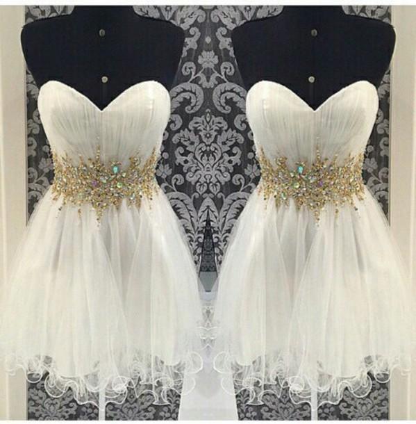 dress white dress juwel-ausschnitt abendkleid beautiful