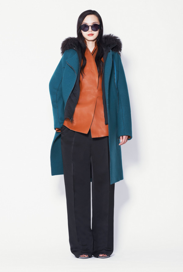 coat fashion phillip lim lookbook jacket