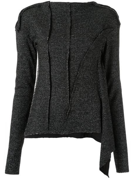 Uma Raquel Davidowicz blouse women spandex black top