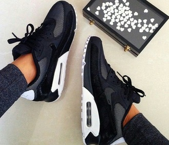 shoes nike women nikes black grey white