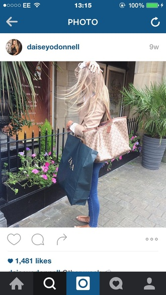 jacket daisey odonell blonde hair camel smart casual