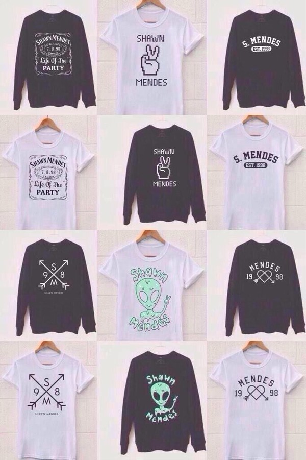 t-shirt blouse white t-shirt black sweater graphic tee magcon shawn mendes sweater shaw mendes shirt