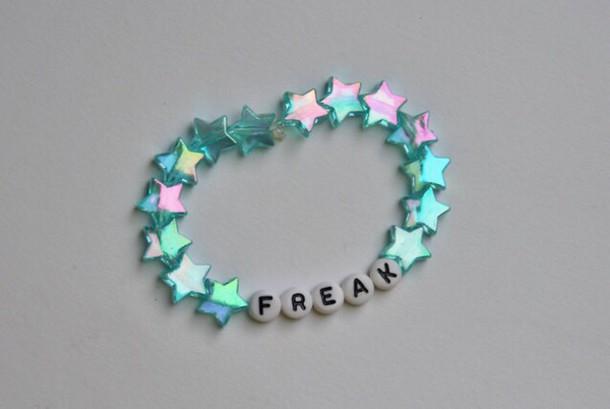 jewels make-up bracelets cute bracelet freak stars