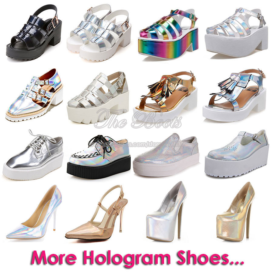 Online Get Cheap Silver Hologram Shoes -Aliexpress.com | Alibaba Group