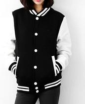 jacket,college,baseball jacket,red,korean fashion,korean style,black,dope,swag,red jacket,it girl shop