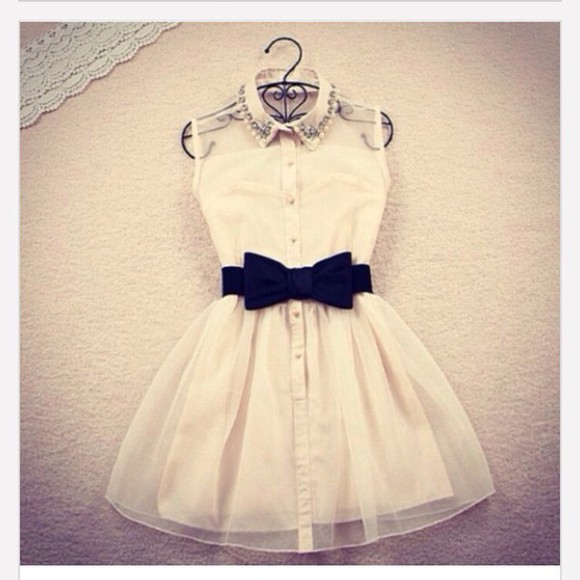 white dress cute dress