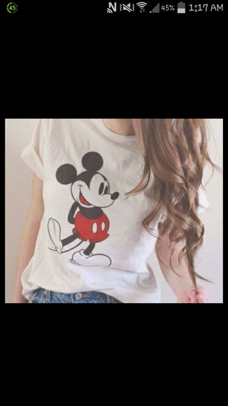 mickey mouse mickey mouse shirt