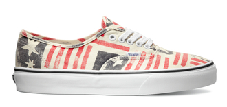 shoes american flag stripes red stars print printed all over print sneakers girls womenswear