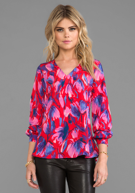 LOVERS   FRIENDS Sweet Kiss Top in Floral - Lovers   Friends
