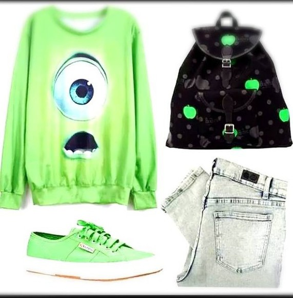 green monsters inc mike wazowski