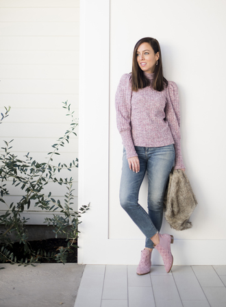 sydne summer's fashion reviews & style tips blogger sweater jeans shoes jewels jacket coat